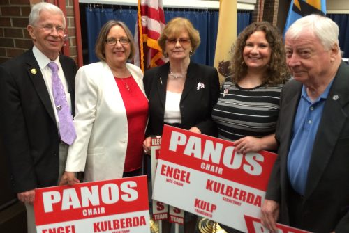 Lucille Panos and Team following Election to the MCRO Committee